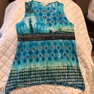 Dressbarn sleeveless blouse
